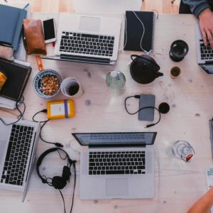 Team Brainstorming zur Entwicklung der GREYD.SUITE