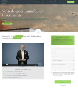 Beispielwebsite GREYD.SUITE