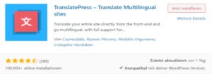 Translation Plugin