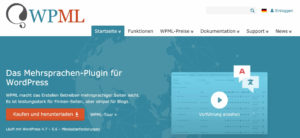 WPML Mehrsprachen Plugin für WordPress