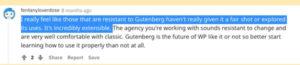Gutenberg Editor für WordPress.