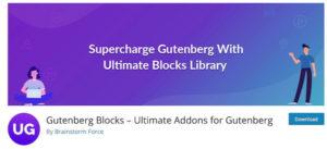 Ultimate Addons for Gutenberg Plugin