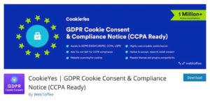 GDPR Cookie Plugin