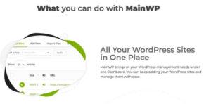 MainWP hilft dir beim Verwalten mehrerer WP Websites.