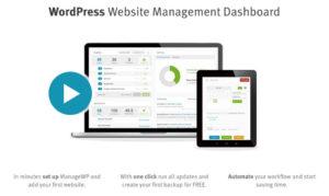 ManageWP hilft dir beim Managen mehrerer WordPress Installationen.