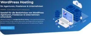 WPspace für managed WordPress Hosting
