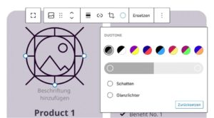 Gutenberg Update zu duotone Filter