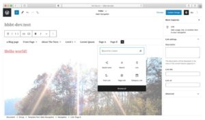 Gutenberg Full Site Editing Update